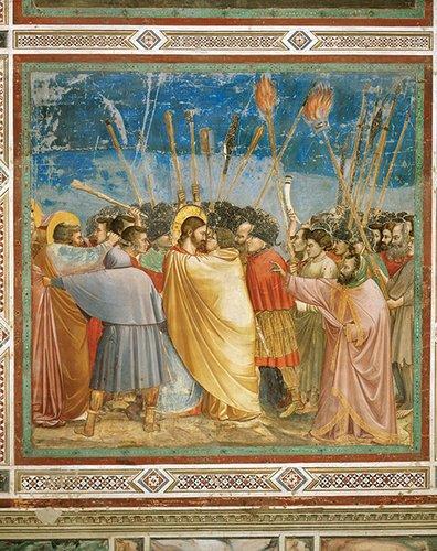 Giotto's Kiss of Judas