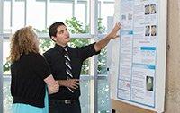 A Summer Scholar presents his research