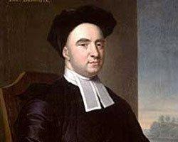 painted portrait of George Berkeley