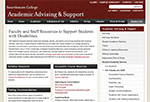 Faculty and Staff Resources to Support Students with Disabilities