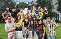 Students from the International Student Services student group i20