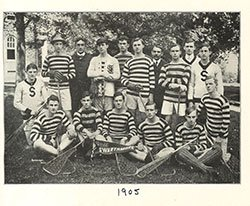 1905 Men's Lacrosse Team