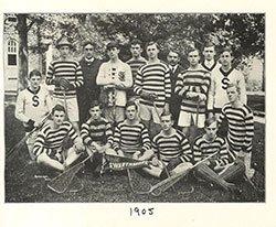 1905 Men's Lacrosse Team