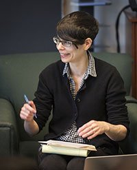 Associate Professor of English Literature Rachel Sagner Buurma