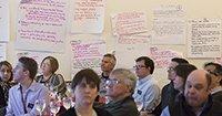 Participants listen