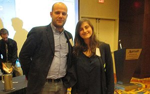 Jeremy Lefkowitz and Natalia Sucher '16