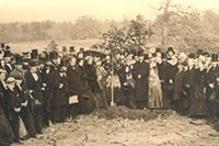Opening Day Treeplanting Photo
