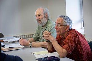 Ken Sharpe and Barry Schwartz