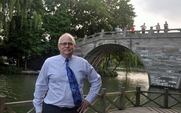 Provost Stephenson Explores Relationships with Universities in China