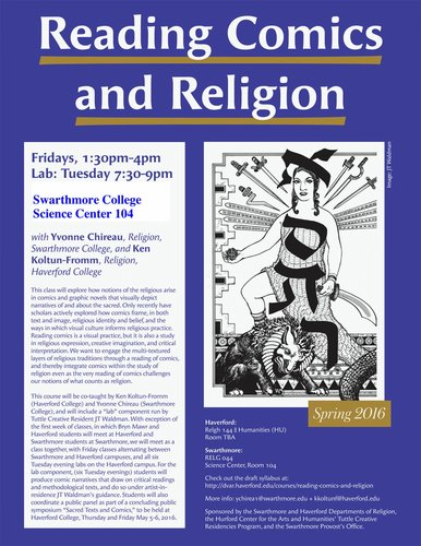 RELG 044. Reading Comics and Religion