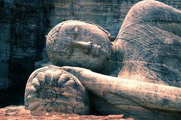 Reclining Buddha, Sri Lanka