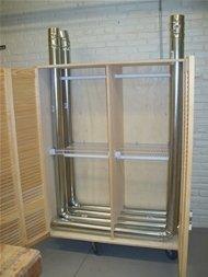 installation of drying locker in Wharton A/B laundry room