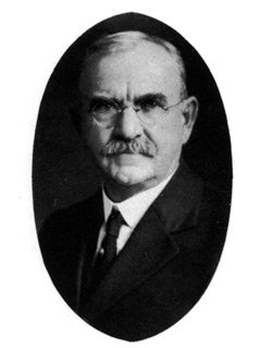 Joseph Swain, sixth president serving between 1902 and 1921
