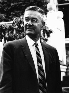 John W. Nason, eighth president serving from 1940 to 1953