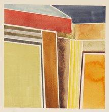 Student painting by Emily Lipner '14 titled Corner (Disjoint).