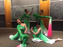students performing at CIA showcase