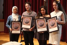 Senior Awards at IC Dinner