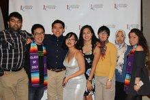 IC Interns at Awards Dinner