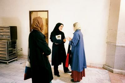 Donna Jo Napoli and others in Isfahan