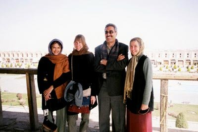 Donna Jo with Jamila Gavin, Meghan Nuttall-Sayres, and Hossein Ebrahimi