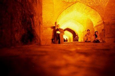 Isfahan at night