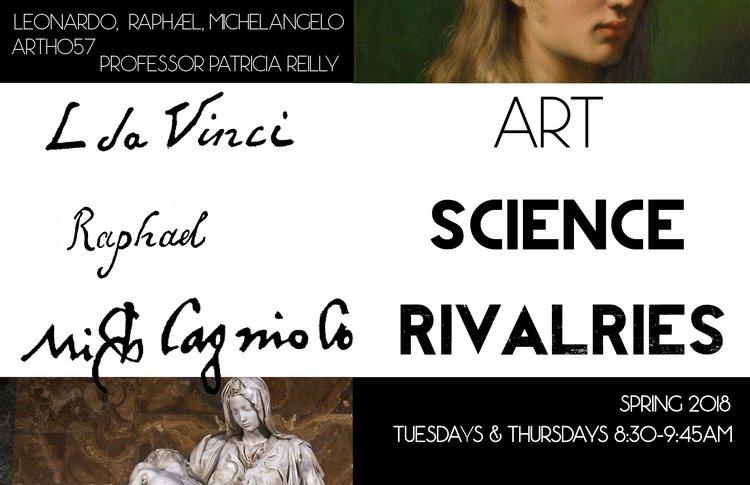 Leonardo, Raphael, Michelangelo course