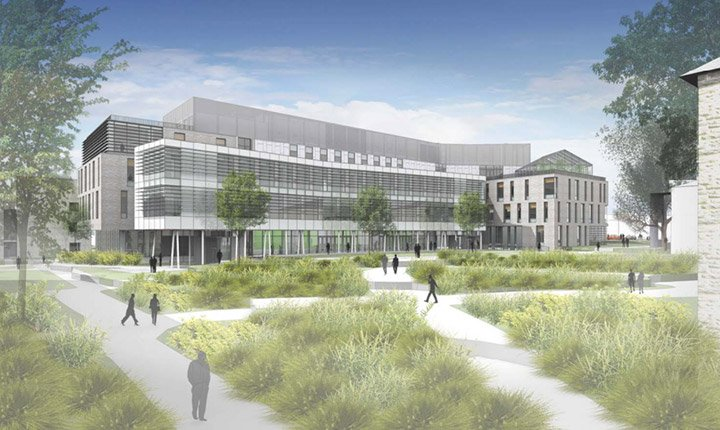 Biology, Engineering, Psychology Building Plan