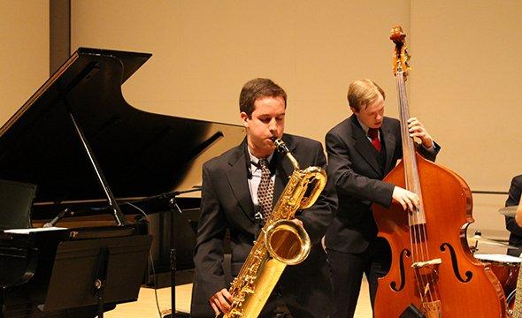 Baritone Saxophone solo