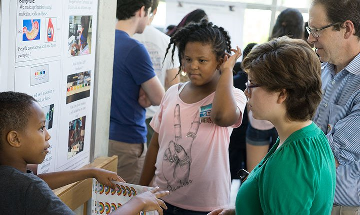Students present their research