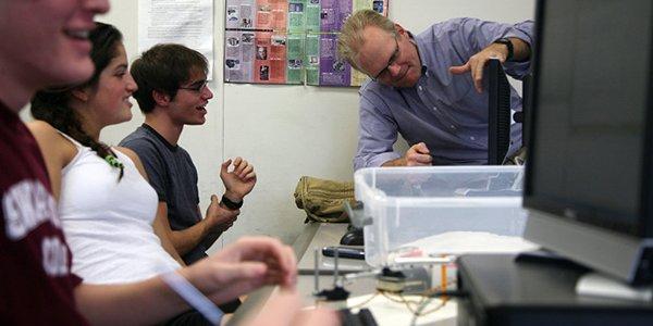Professor Cheever's lab
