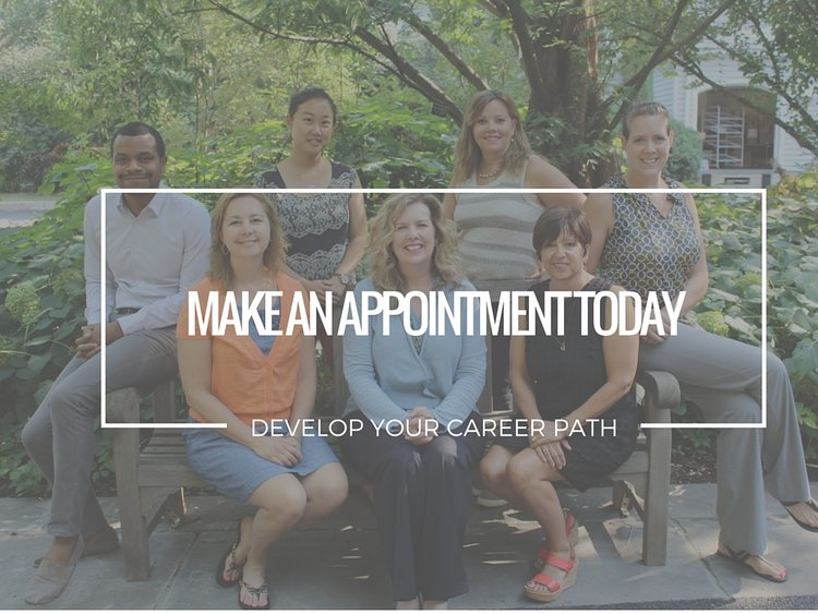 make an appointment today to discuss career development with one of the counselors