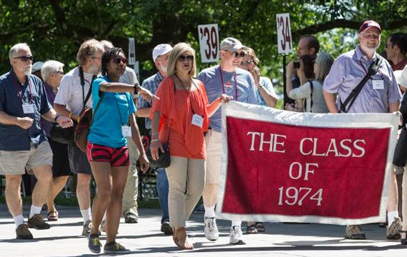 Watch: All-Alumni Reunion Weekend More than 2,800 people celebrated a party 150 years in the making.