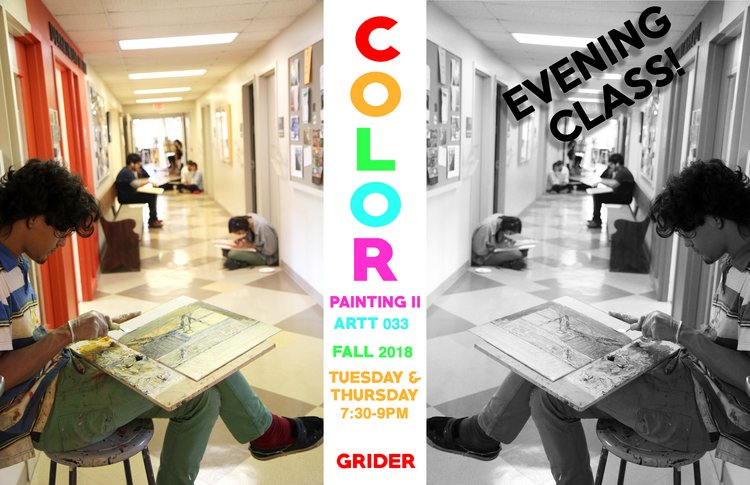 Painting II: Color class