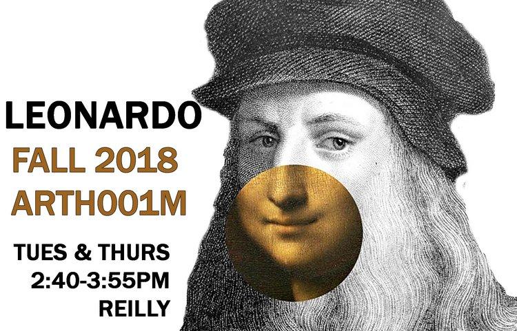 Leonardo art history class