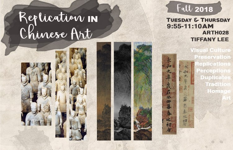 Replication in Chinese Art class