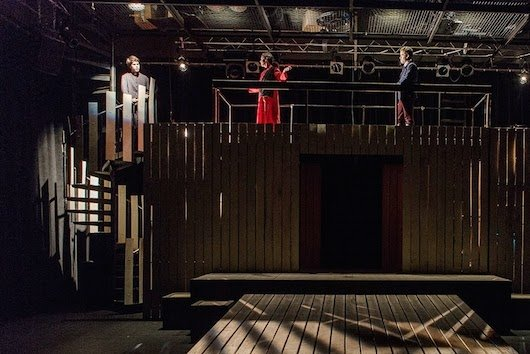 A production in the Frear Ensemble Theatre