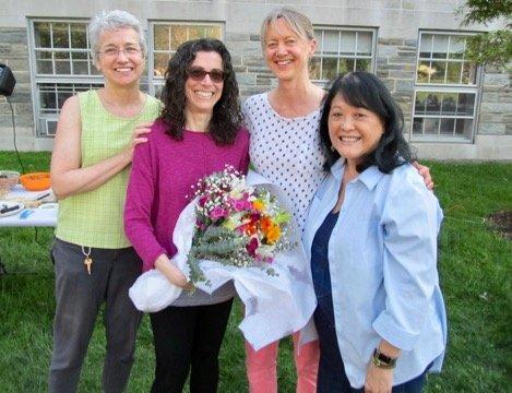 Bio faculty at year end picnic