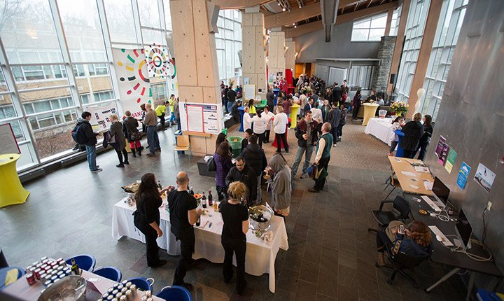 Overview of the Science Center Eldridge Commons