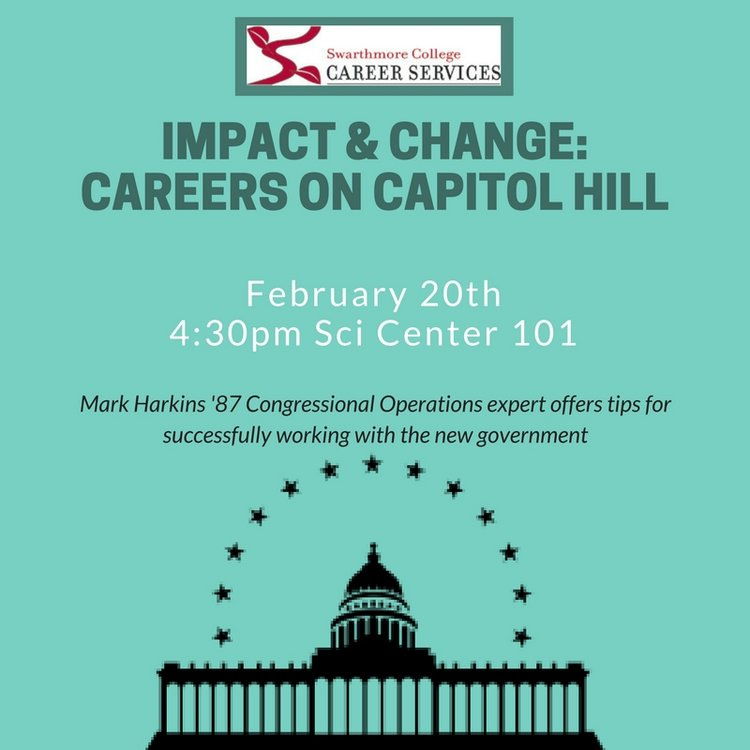 Impact & Change careers on capitol hill image