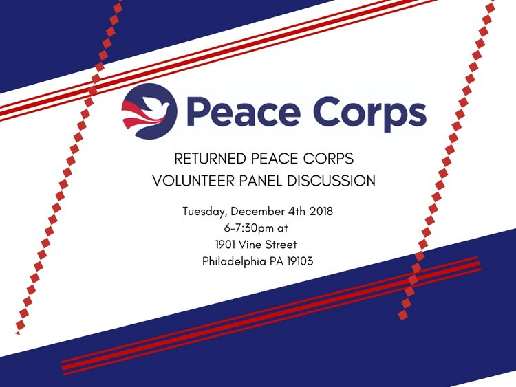 Returned Peace Corps Volunteer Panel Discussion