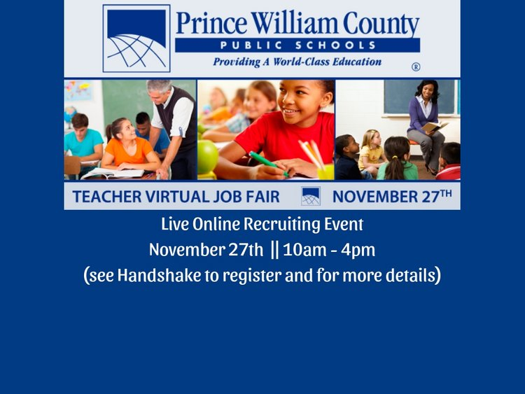 Prince William County Public Schools Recruiting