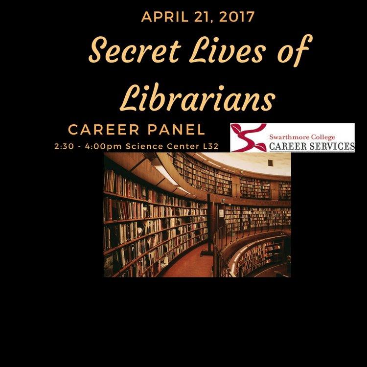 Secret lives of librarians graphic