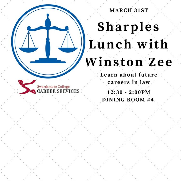 Sharples lunch with winston zee graphic