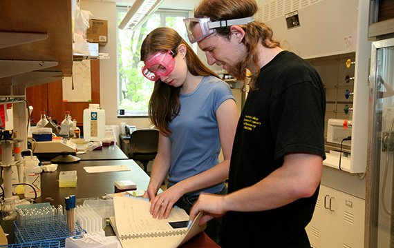 Participation in research exposes students to the practice of chemistry as a process of creating new knowledge.
