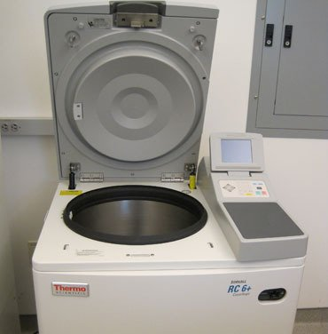 Refrigerated Centrifuge - Sorvall RC-6+