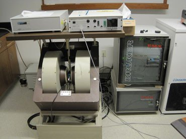 an electron spin resonance spectrometer