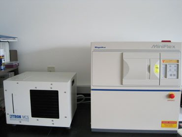 an X-ray diffractometer