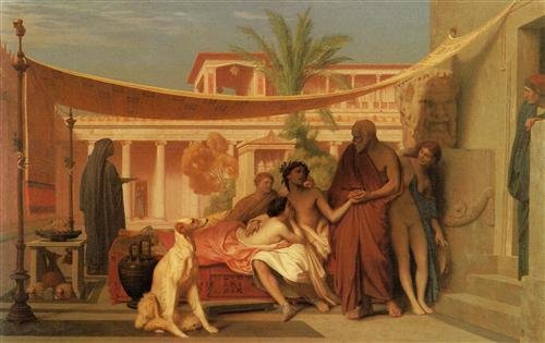 Gerome, Socrates Seeking Alcibiades