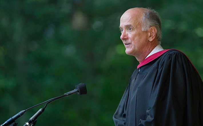 Commencement 2015 - Gil Kemp '72