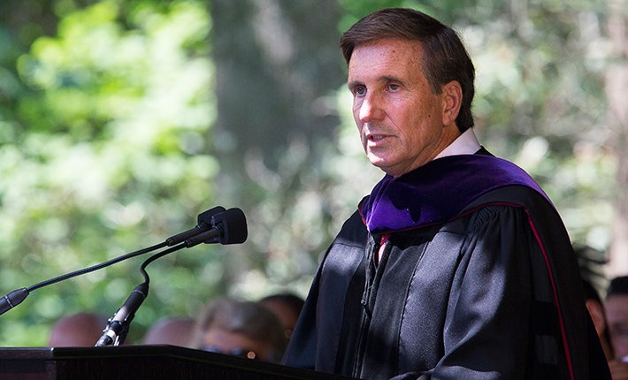 Commencement 2015 Randy Holland '69, Doctor of Laws